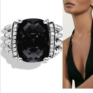 David Yurman Wheaton ring black onyx
